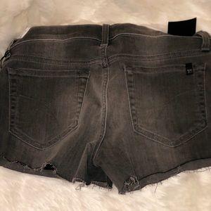 Joe's Jeans Shorts - Joe's Jeans Gray Womens Easton Cut Off Shorts